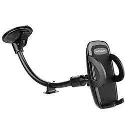 Mpow Car Phone Mount, Windshield Cell Phone Holder for Car w