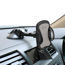 Car Phone Mount,OHLPRO Cell Phone Holder for Car Dash Windsh