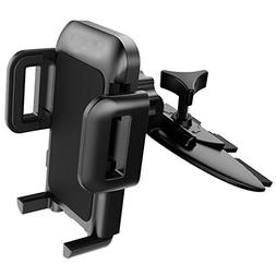 Mpow  Car Phone Mount,CD Slot Car Phone Holder Universal Car