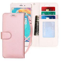 FYY Case for iPhone 6S Plus/iPhone 6 Plus,  Flip Folio Leath
