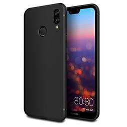 EasyAcc Case for Huawei P20 Lite, Black TPU Cover Phone Case