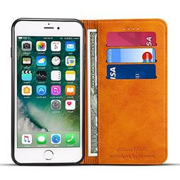 Case Compatible for Iphone 6/6S Leather Wallet Phone Case Ip