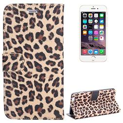 SUNSKY Case Cover Leopard Print Pattern Horizontal Flip Leat