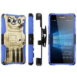 Microsoft Lumia 950 Case,   Heavy Duty Holster Armor Tough C