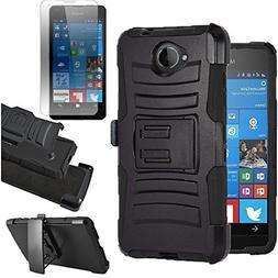 For  Microsoft LUMIA 650 Case  Heavy Duty Shock Impact Prote