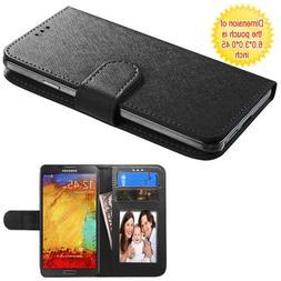 Case+Stylus Mybat PU Leather Purse Fits Universal Samsung, A