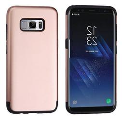 MyBat Cell Phone Case for Samsung Galaxy S8 Plus - Rose Gold