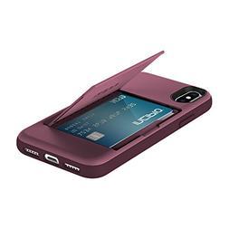 Incipio Cell Phone Case for iPhone X - Plum