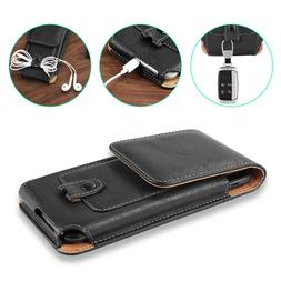 Cell Phone Case Pouch Holster with Belt Loop Metal Clip S M