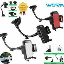Mpow Universal Cell Phone Car Dashboard Windshield Mount Lon