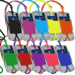 Cell Phone Lanyard Strap Universal Smartphone Case Cover ID