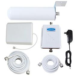 Phonelex Cell Phone Signal Booster 70dB Dual Band 850/1700MH