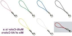 cell phone straps lariat strings assorted colors