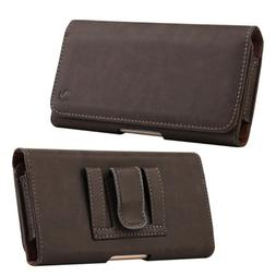 Cell Phones Horizontal Carrying Leather Pouch Case Cover Wit