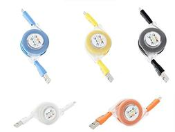 cellphone usb cable flashlight charging