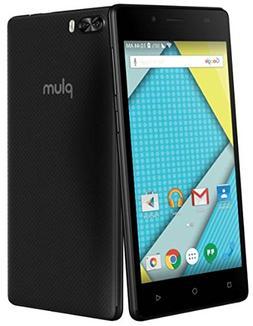 "Plum Compass 4G LTE GSM Unlocked Smart Cell Phone 5"" Display"