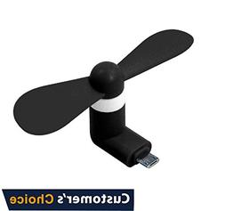 Audiology Connect Portable Mini Fan, Mobile Fan, Small Mobil