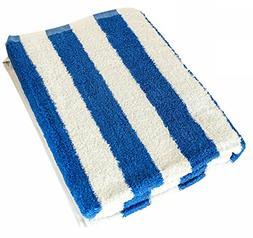 Utopia Towel 30 x 60 Inch Cotton Beach Towel in Cabana Strip