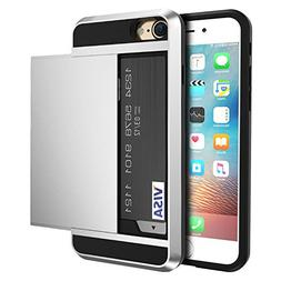 vovmi Credit Card iPhone 7 6 6s 8 Plus Cases 2 in 1 Phone Co