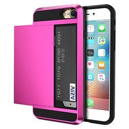 vovmi Credit Card iPhone 7 6 6s 8 Plus Cases 2 in 1 iPhone5s