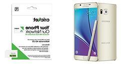 "Cricket Samsung Galaxy Note 5 ""Gold Platinum 32Gb"" ""AT&T 4G"