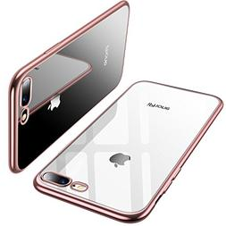 TORRAS Crystal Clear iPhone 8 Plus Case/iPhone 7 Plus Case,