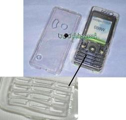 Crystal Hard Case For SONY/ SAMSUNG Mobile Phone & Keypad Pr