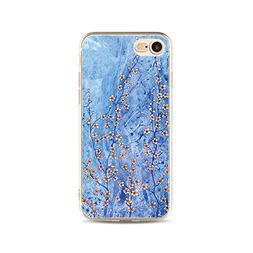 Cute IPhone 7 Case,Plum blossom flower creative Pattern --ma