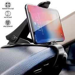 Dashboard Cell Phone Holder HUD Car Phone Mount LabelBro Universal Cradle Adjustable GPS Holder Dashboard Phone Mount for iPhone 7 7Plus 6S Samsung Galaxy S7 S6 /& Other Smartphone//GPS Navigation