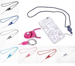 Detachable Cell Phone Mobile Neck Lanyard Strap ID Card Key