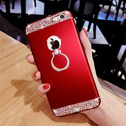 diamond mobile phone case Fashion ring buckle bracket mobile