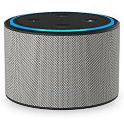 DOX Portable Battery Base for Amazon Echo Dot Ash/Gray