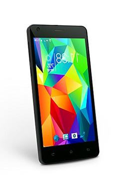 "SLIDE Dual SIM 5"" Android 6.0 Unlocked Smartphone, Quad Core"