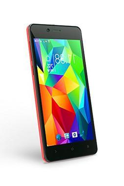 "SLIDE Dual SIM 5"" Unlocked Smartphone, Android 6, Quad Core"