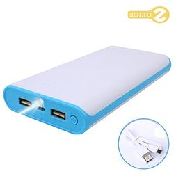 SOLICE® 20000mAh Dual USB Output Portable Charger External
