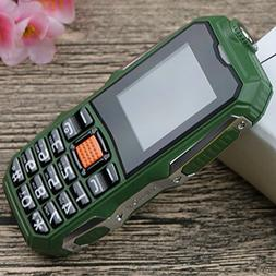 E700 Outdoor Mobile Phone, 2.0 Inches Dual Card 2800mAh Long