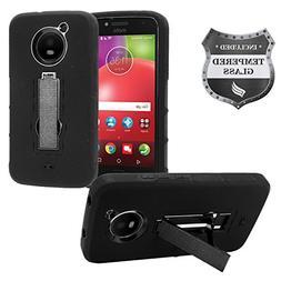Eaglecell - For Motorola Moto E4 XT1767  - Hybrid Armor Case