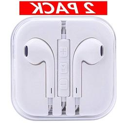 Earbuds, Wephone iPhone Headphones with Microphone for Apple