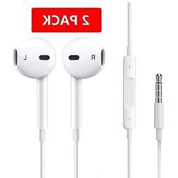 Premium Earphones/Earbuds/Headphones with Stereo Mic&Remote