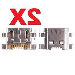 ePartSolution-2 X Pantech Element P4100 Charger Charging Por