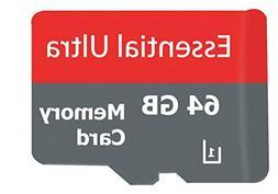 Essential ULTRA 64GB OPPO F3 MicroSDXC Card with custom form