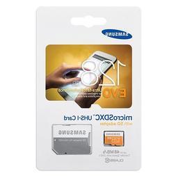Samsung Evo 128GB MicroSD XC Class 10 UHS-1 Mobile Memory Ca