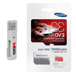 Samsung Evo Plus 32GB MicroSD HC Class 10 UHS-1 Mobile Memor