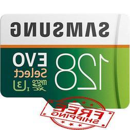 Samsung EVO Select 128GB microSDXC UHS-I U3 100MB/s Full HD