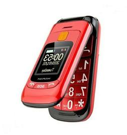 """Flip Senior Mobile Phone Dual Display Handwriting 2.4"""" Large"""