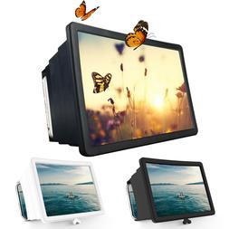 Folding 3D Enlarge Screen Magnifier Amplifier Mobile Phone H