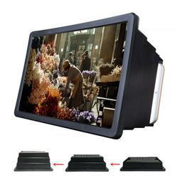 Folding Mobile Cell Phone Screen Magnifier 3D HD Screen Ampl