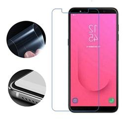 for Samsung Galaxy J8 2018 Screen Protector, 2pack 2.5D Full