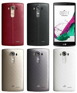 LG G4 H810- 32GB  GSM GLOBAL Unlocked. Black Brown Leather -