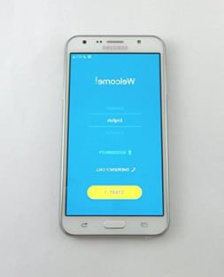"Samsung Galaxy J7 5.5"" Smartphone T-Mobile GSM 16GB White 4G"